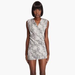 IRO Women's Gray Sarah Mini Dress with Ruching